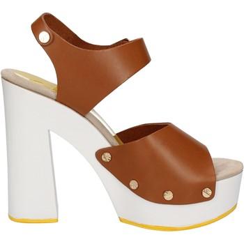 kengät Naiset Sandaalit ja avokkaat Suky Brand sandali marrone pelle AC483 Marrone