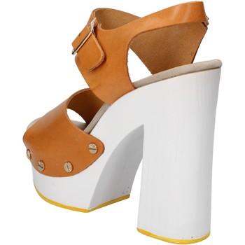 kengät Naiset Sandaalit ja avokkaat Suky Brand sandali marrone pelle AC485 Marrone