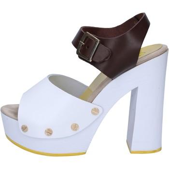 kengät Naiset Sandaalit ja avokkaat Suky Brand sandali marrone pelle bianco AC486 Marrone