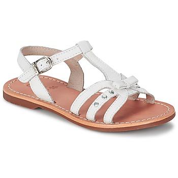 kengät Tytöt Sandaalit ja avokkaat Aster VALENTINA White