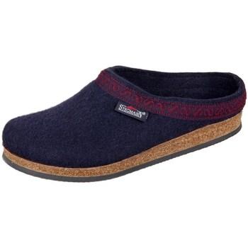 kengät Naiset Tossut Stegmann Navy Wollfilz Mustat