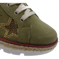 kengät Naiset Matalavartiset tennarit Calzaturificio Loren LOC3786sa verde