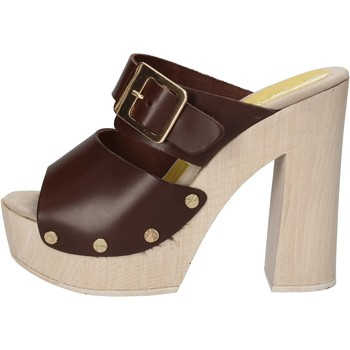 kengät Naiset Sandaalit ja avokkaat Suky Brand sandali marrone pelle AC764 Marrone