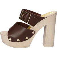 kengät Naiset Sandaalit ja avokkaat Suky Brand sandali marrone pelle AC765 Marrone