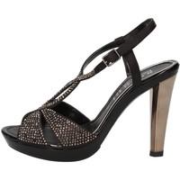 kengät Naiset Sandaalit ja avokkaat Phil Gatiér Sandaalit AC791 Musta