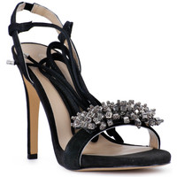 kengät Naiset Sandaalit ja avokkaat Café Noir CAFE NOIR SANDALO ACCESSORIO Nero
