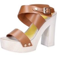 kengät Naiset Sandaalit ja avokkaat Suky Brand sandali marrone pelle AC816 Marrone