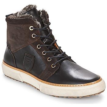 kengät Miehet Korkeavartiset tennarit Pantofola d'Oro BENEVENTO UOMO FUR MID Brown