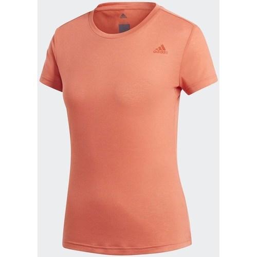 vaatteet Naiset Lyhythihainen t-paita adidas Originals Freelift Prime Oranssin väriset