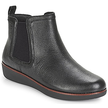 kengät Naiset Bootsit FitFlop CHAI Black