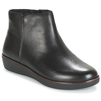 kengät Naiset Bootsit FitFlop ZIGGY ZIP Black