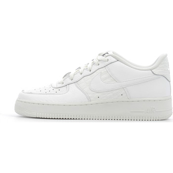 kengät Lapset Matalavartiset tennarit Nike Air Force 1 LV8 Junior White