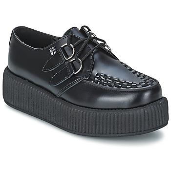 kengät Derby-kengät TUK MONDO HI Black