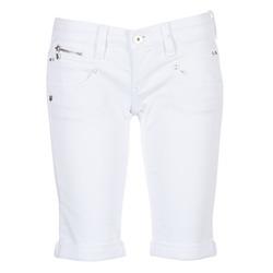 vaatteet Naiset Shortsit / Bermuda-shortsit Freeman T.Porter BELIXA White