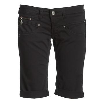 vaatteet Naiset Shortsit / Bermuda-shortsit Freeman T.Porter BELIXA Black