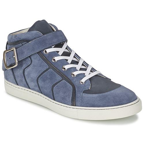 kengät Miehet Korkeavartiset tennarit Vivienne Westwood HIGH TRAINER Sininen