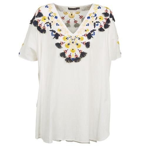 vaatteet Naiset Tunika Antik Batik DOVE White