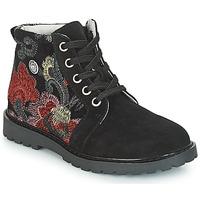 kengät Tytöt Bootsit Catimini CAHAUT Musta