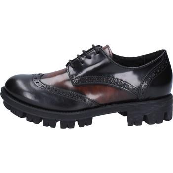 kengät Naiset Derby-kengät Lea Foscati Klassikko AD743 Musta