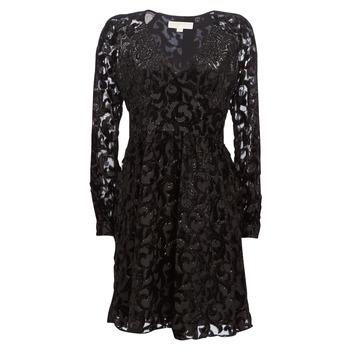 vaatteet Naiset Lyhyt mekko MICHAEL Michael Kors RAGLAN SLV SHORT DRS Black