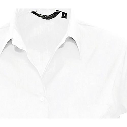 vaatteet Naiset Paitapusero / Kauluspaita Sols ESCAPE POPELIN WOMEN Blanco