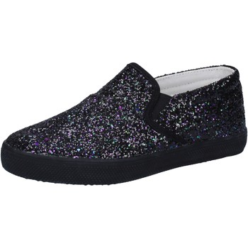 kengät Tytöt Tennarit Date slip on nero glitter AD836 Nero