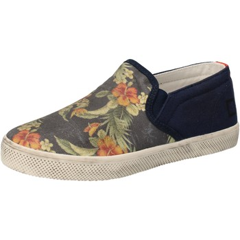kengät Tytöt Tennarit Date sneakers blu tessuto AD858 Blu