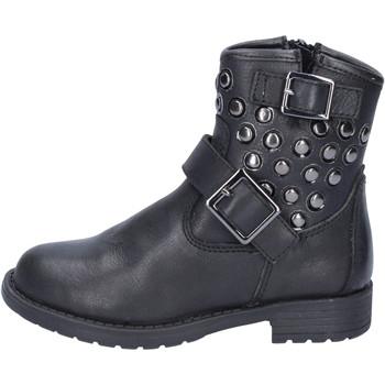 kengät Tytöt Nilkkurit Didiblu Nilkkasaappaat AD981 Musta
