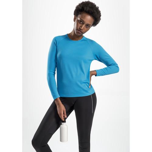 vaatteet Naiset T-paidat pitkillä hihoilla Sols SPORT LSL WOMEN Azul