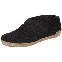 kengät Naiset Tossut Glerups DK Shoe Charcoal Lammwollfilz Mustat