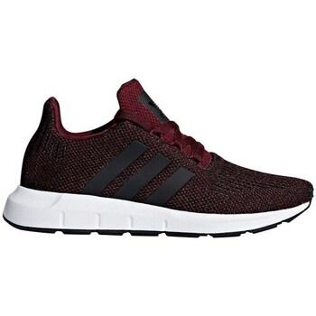 kengät Lapset Matalavartiset tennarit adidas Originals Swift Run J Tummanpunainen
