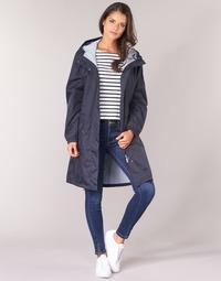 vaatteet Naiset Parkatakki Aigle FIRSTRAIN Laivastonsininen