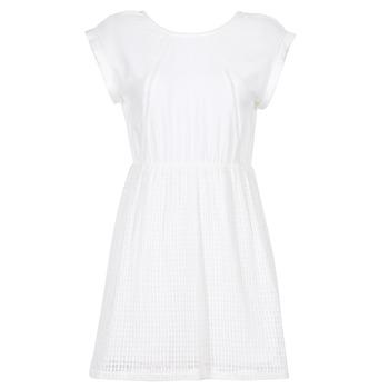 vaatteet Naiset Lyhyt mekko Moony Mood INDI White