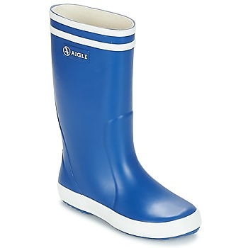 kengät Lapset Kumisaappaat Aigle LOLLY POP Blue
