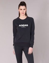 vaatteet Naiset Svetari adidas Originals ESS ALLCAP SWT Black