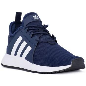 kengät Lapset Matalavartiset tennarit adidas Originals X Plr J Tummansininen