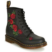 kengät Naiset Bootsit Dr Martens 1460 VONDA Black