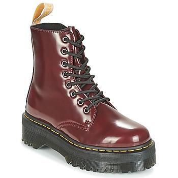 kengät Bootsit Dr Martens JADON Viininpunainen