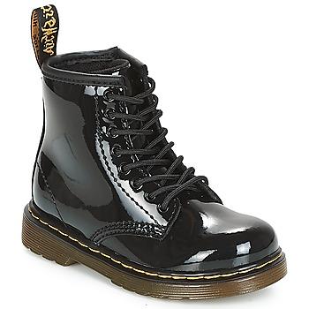 kengät Tytöt Bootsit Dr Martens 1460 PATENT CADET Black