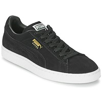 kengät Matalavartiset tennarit Puma SUEDE CLASSIC Musta