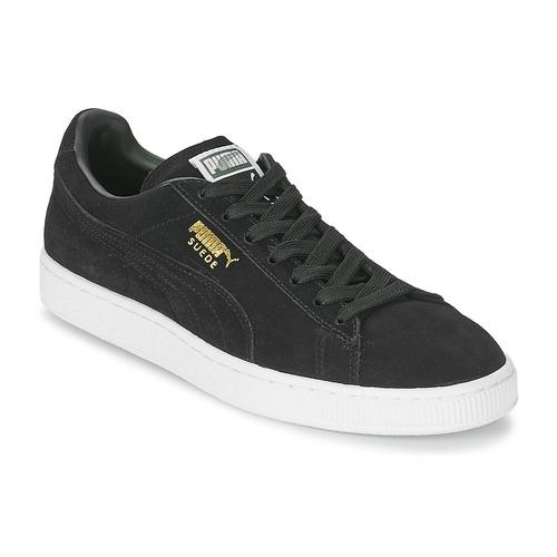 kengät Matalavartiset tennarit Puma SUEDE CLASSIC Black