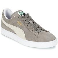 kengät Matalavartiset tennarit Puma SUEDE CLASSIC Grey