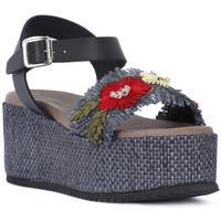 kengät Naiset Sandaalit ja avokkaat Café Noir CAFE NOIR SANDALO FASCIA Nero