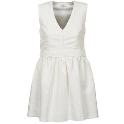 vaatteet Naiset Lyhyt mekko Suncoo CAGLIARI White