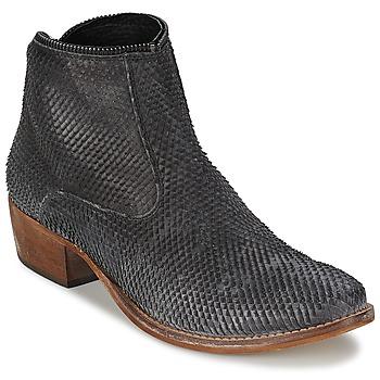 kengät Naiset Bootsit Meline ELISE Black