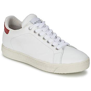 kengät Naiset Matalavartiset tennarit Meline AIMEE White / Red
