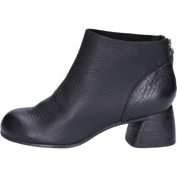kengät Naiset Nilkkurit Moma Nilkkasaappaat AB414 Musta