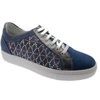 kengät Naiset Matalavartiset tennarit Calzaturificio Loren LOC3787bl blu