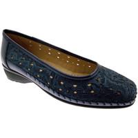 kengät Naiset Balleriinat Calzaturificio Loren LOK3983bl blu