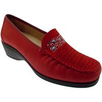 kengät Naiset Mokkasiinit Calzaturificio Loren LOK3988ro rosso
